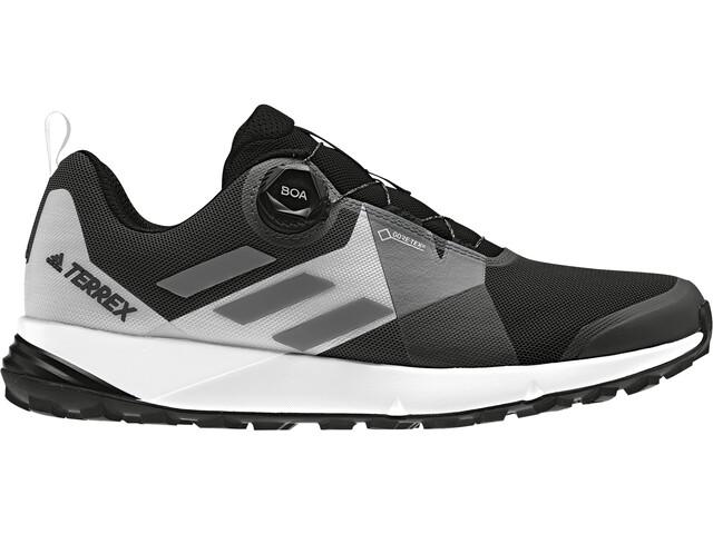 adidas TERREX Two Boa GTX Shoes Herren core black/grey four/ftwr white